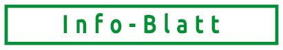 Icon Info-Blatt